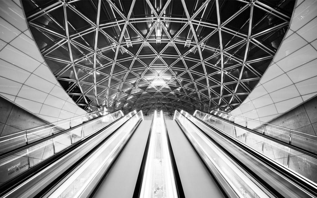 archangel-by-robin-de-blanche-escalators-the-ceiling-the-architecture
